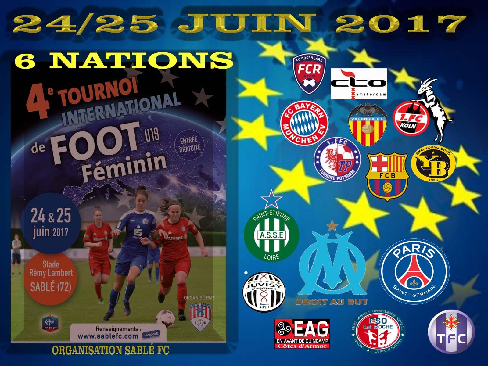 tournoi international fminin